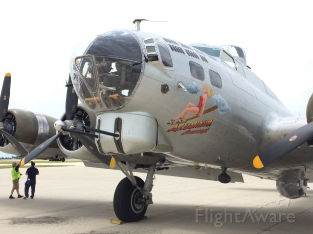 Boeing B-17 Flying Fortress — - B-17 at KSIP. In 2017. Army Air Corps,. A part of history.
