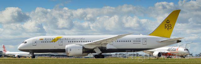 Boeing Dreamliner (Srs.8) (V8-DLC)