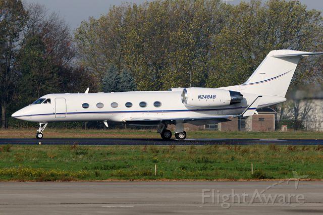 Gulfstream Aerospace Gulfstream IV (N248AB) - NEW REGISTRATION N7799T.
