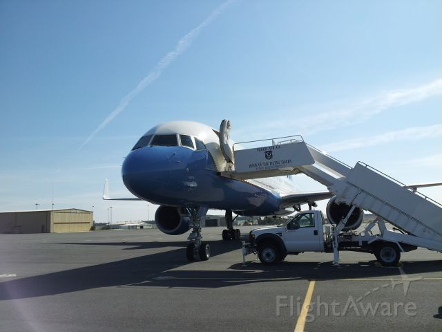 — — - Air Force 2 on an extended stay at Tallahassee. February, 2012