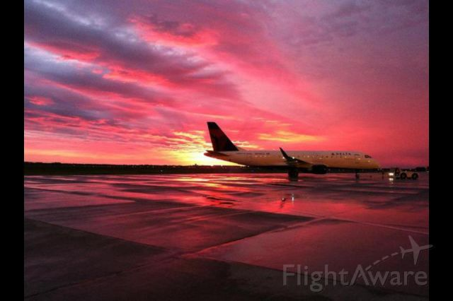 — — - I took this awesome picture on my birthday on the ramp and Hector International in Fargo, ND