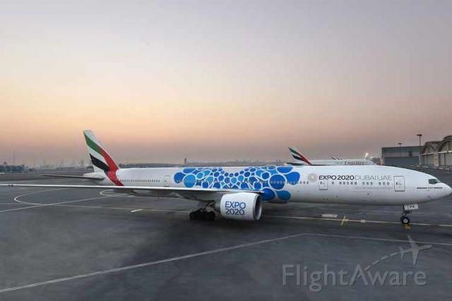 — — - Emirates boeing 777 :)