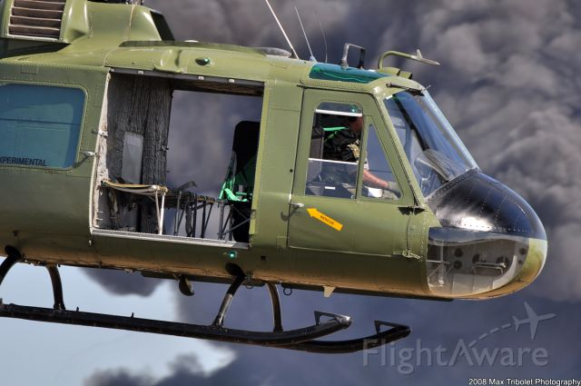 — — - The Collins Foundation Huey was part of the Vietnam recreation at Wings Over Houston 2008