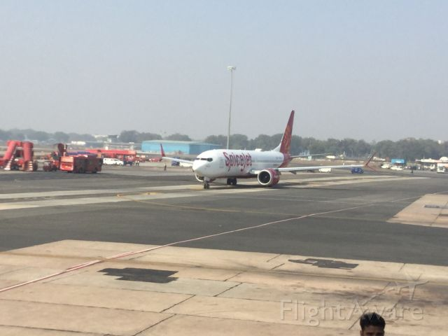 Boeing 737 MAX 8 — - SpiceJet