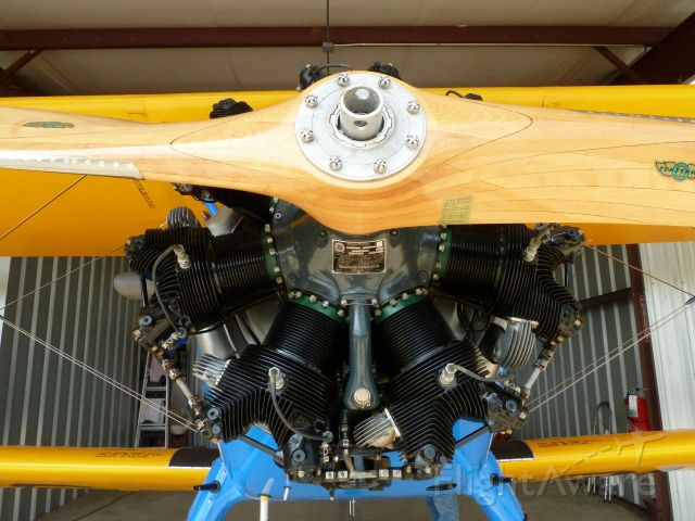 Boeing PT-17 Kaydet — - W-670 Continental Radial