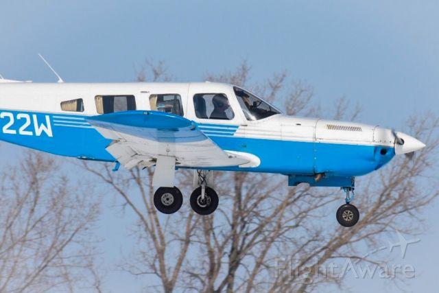 Piper Lance 2 (N322W) - Landing