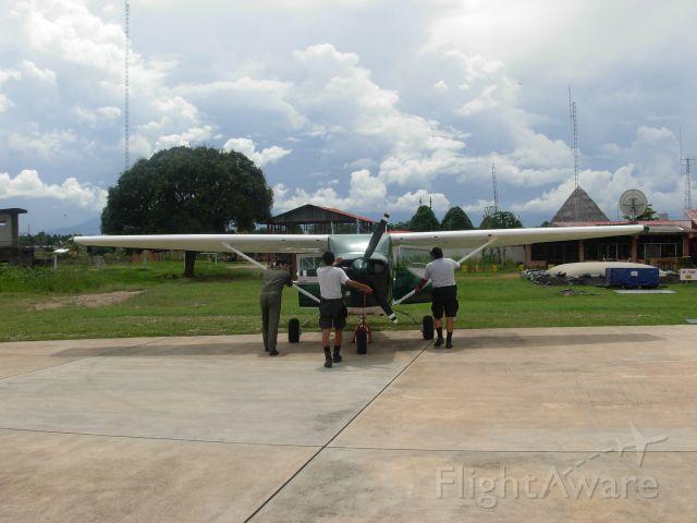 Cessna 206 Stationair — - PUNTO DE RECARGA