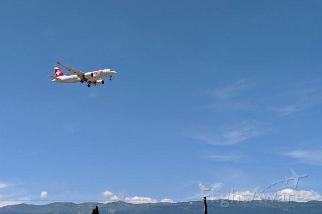 Airbus A220-100 (HB-JBC)
