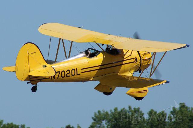 WACO OHIO YMF (N7020L) - Departing for a biplane flight around Atlanta. Photo taken on 5/10/2020.