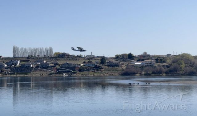 N312AC — - Doing touch and go's on the Mighty Columbia River with a herd of deer observing my approach