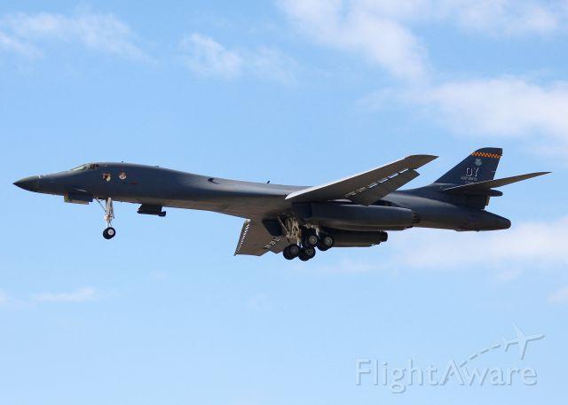 Rockwell Lancer (85-0089) - At Barksdale Air Force Base.