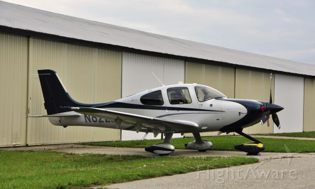 Cirrus SR-22 (N822MS) - Cirrus SR-22 N822MS in Ann Arbor