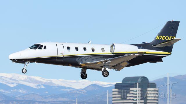 Cessna Citation V (N760ED)
