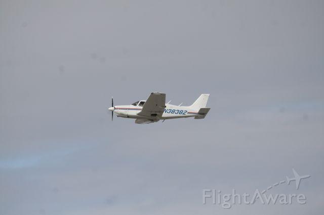 Piper Cherokee (N3838Z) - Famous youtuber Bellcc uses this plane for flight training