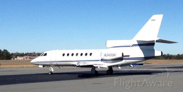 Dassault Falcon 50 (N345SK) - recently sold this 50 and transferred the reg to a 900