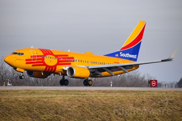 Boeing 737-700 (N781WN) - New Mexico One Livery