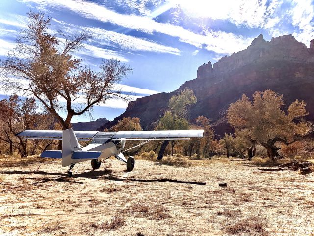 SKYFOX Impala (N33TF) - Mexican mountain, fall day.