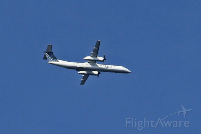 de Havilland Dash 8-400 — - Porter 139, from Toronto CYTZ, as it approaches KEWR at 1707hrsEDT on 09-Aug-2016.