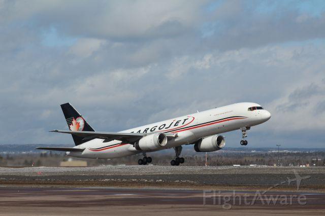 Boeing 757-200 (C-FKAJ) - UPS run YMX-YQM-YHZ CJ618