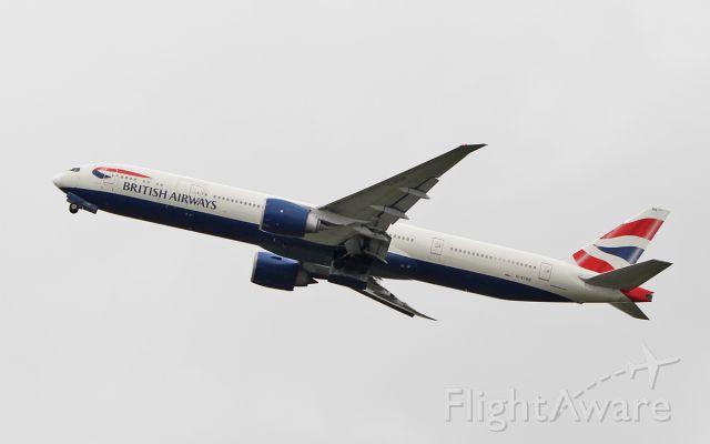 BOEING 777-300 (G-STBB) - british airways b777-36n(er) g-stbb dep shannon after wifi fitting 7/5/18.
