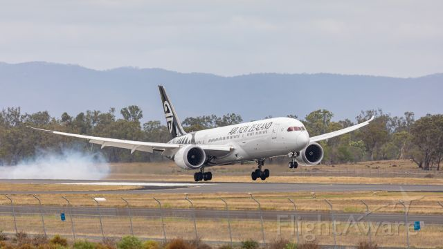 Boeing 787-9 Dreamliner (ZK-NZH) - On the bounce