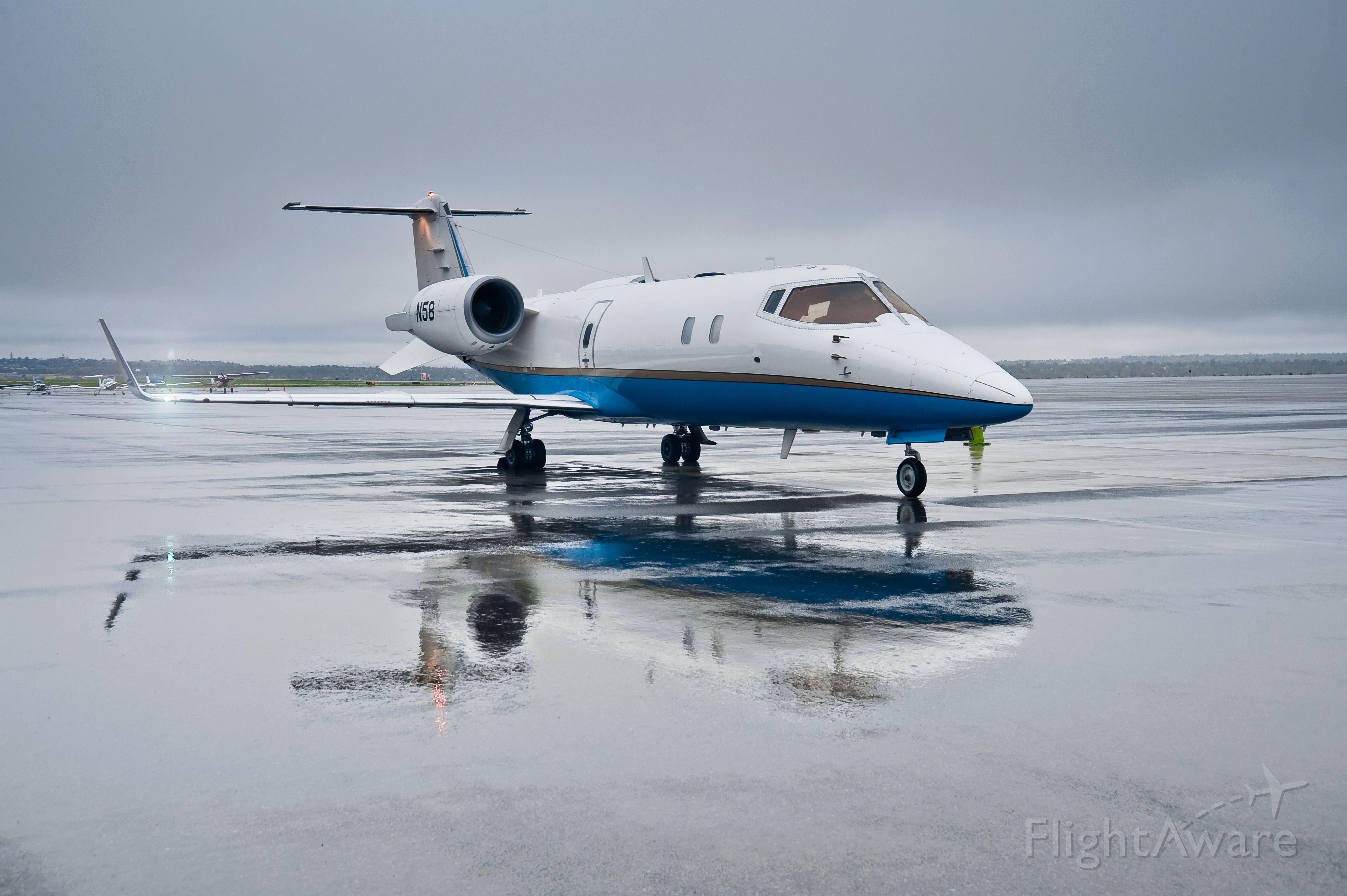 Learjet 60 (N58)