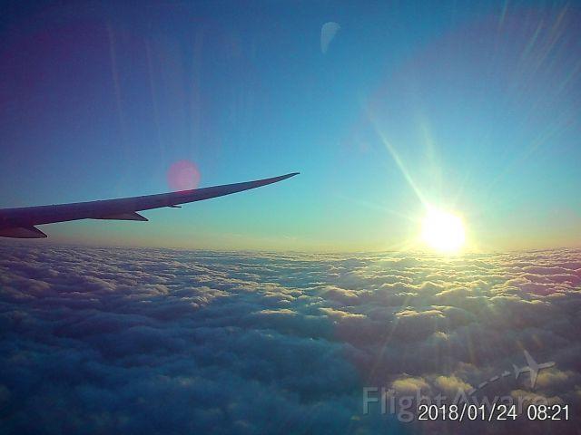 Boeing 787-9 Dreamliner (C-FPQB) - Operating as AC548, descending into Newark Liberty int'l