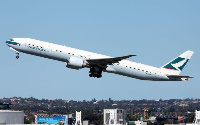BOEING 777-300ER (B-KQR) - Climbing From Rwy 34L