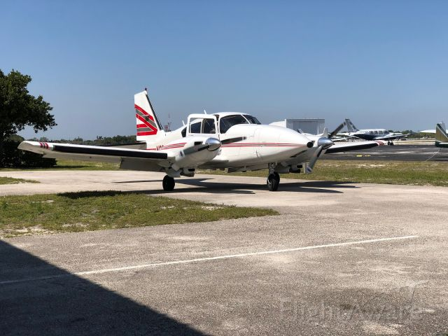 Piper Aztec (N333JD) - AzTruck 333JD on the go leaving crib @PMP 2/2020