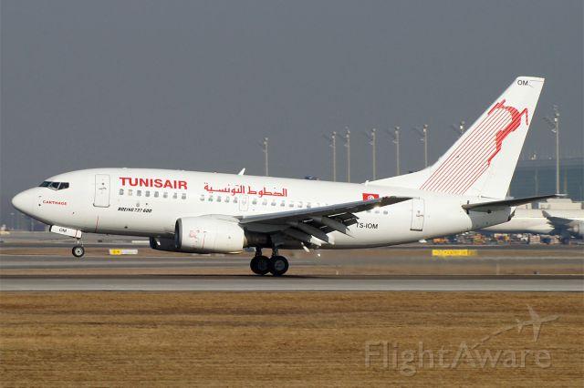 BOEING 737-600 (TS-IOM) - BOEING 737-6H3, Tunis Air, EDDM München Franz Josef Strauss