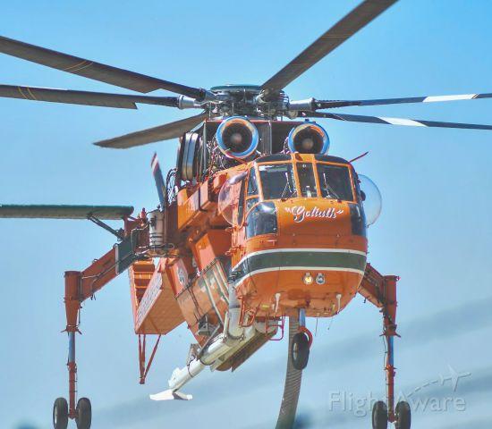 Sikorsky CH-54 Tarhe (N158AC) - Fire season in SoCal