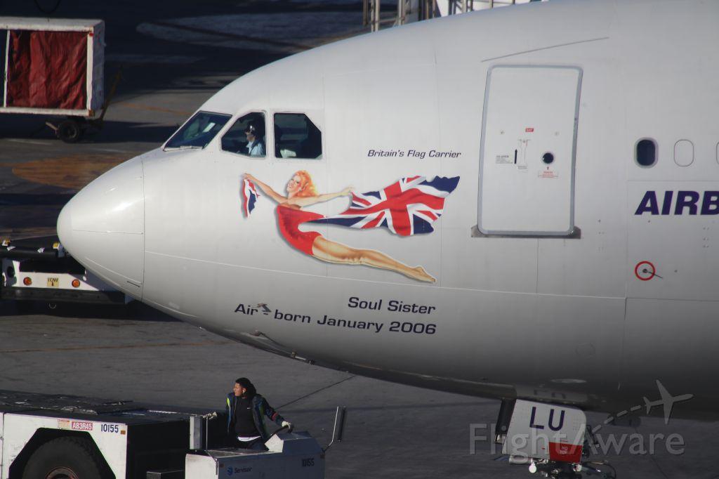 Airbus A340-600 (G-VBLU)