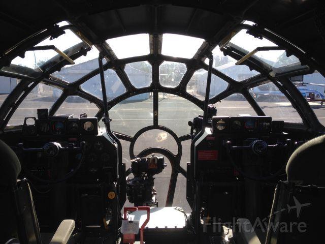 — — - B-29 Cockpit