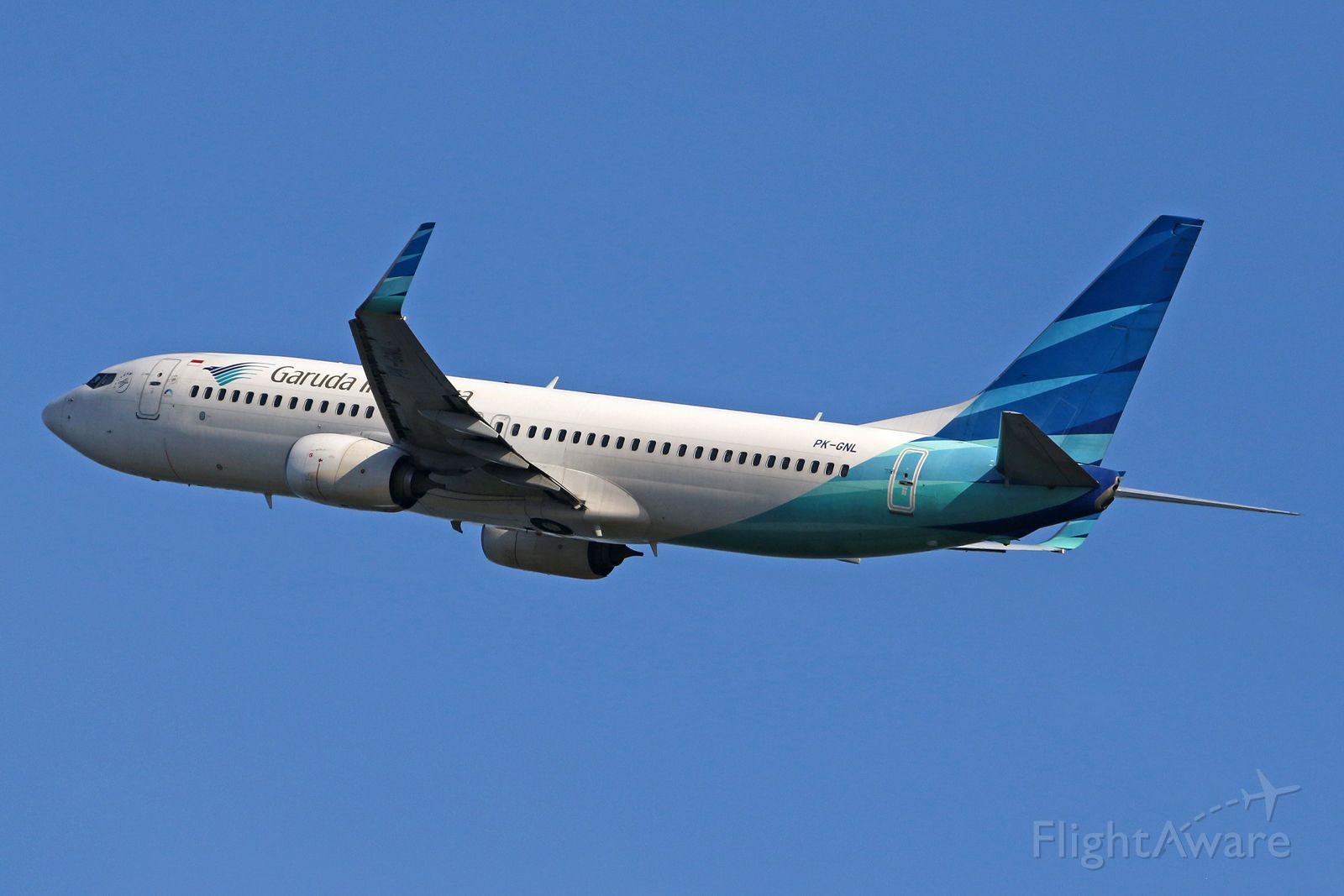 Boeing 737-800 (PK-GNL)