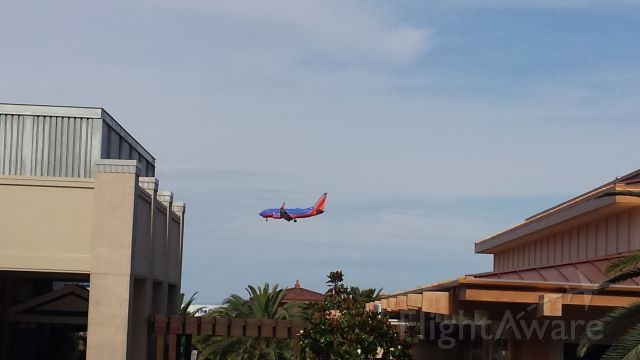— — - Various Southwest flights landing at LAS on runway 1R
