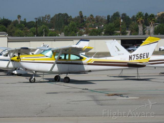 Cessna Skyhawk (N756EV) - Parked at Fullerton