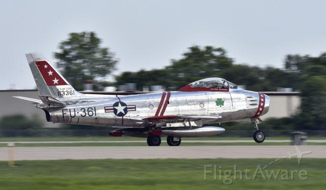 North American F-86 Sabre (N50CJ) - Airventure 2017