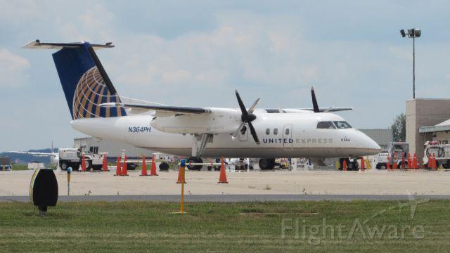 de Havilland Dash 8-200 (N364PH) - Aviation Awareness Day. August 8th, 2015.