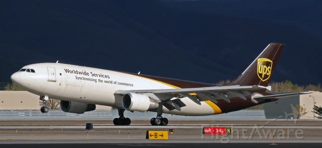 Airbus A300F4-600 (N147UP) - UPS