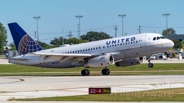 Airbus A320 (N895UA) - Arriving 22<br />10/28/18