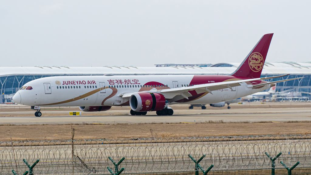 Boeing 787-9 Dreamliner (B-208A) - Thanks for view and give me 5 star please