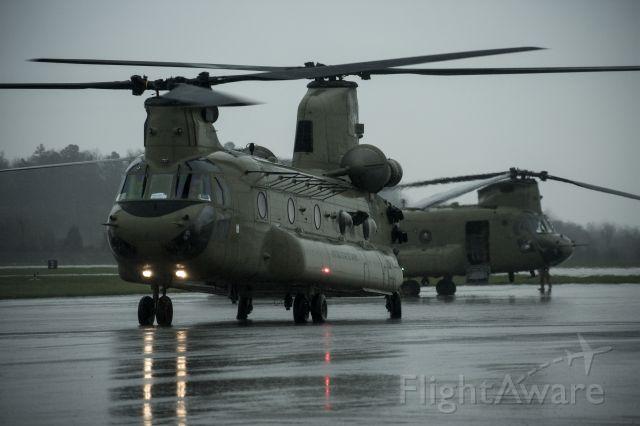 — — - CH-47 Chinook