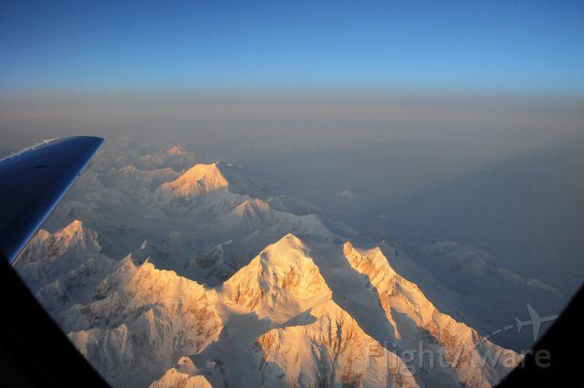 N789H — - Mt. McKinley at sunrise