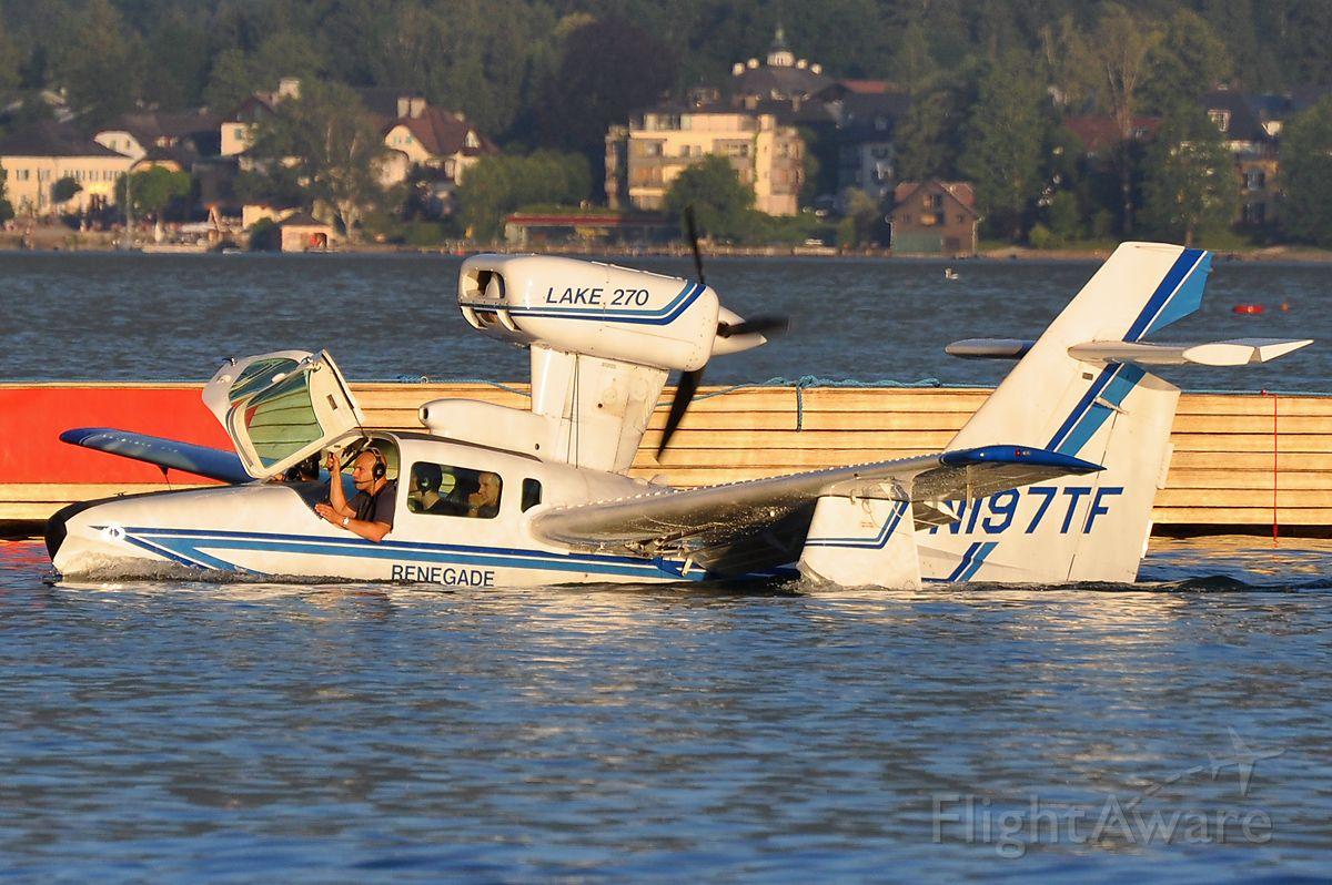 LAKE Turbo Seafury (N197TF) - Wolfgangsee