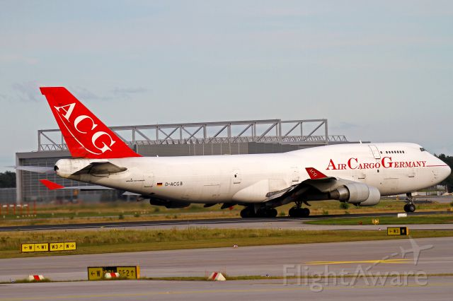 Boeing 747-400 (D-ACGB) - airline finished