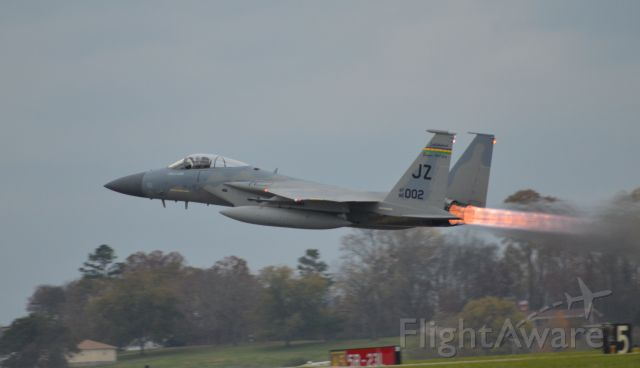 McDonnell Douglas F-15 Eagle — - One of the 3 F15