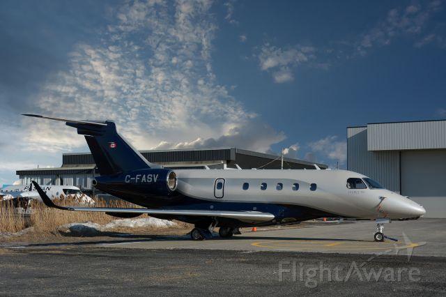 Embraer Legacy 450 (C-FASV) - Visiting CYHU, 16-03-2021