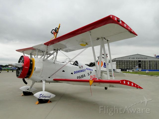 PP-XDI — - Grumman G-164 Show Cat Brazilian Wingwalking Team - Sun Air 2010 PAMASP.