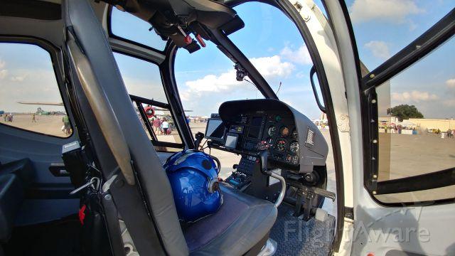 HARBIN HC-120 (N573AG) - Cockpit of N573AG at San Antonio Airshow 2017-Kelly AFB Annex