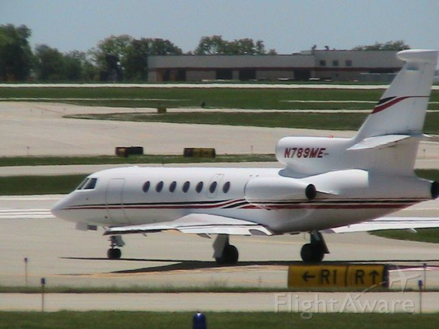 Dassault Falcon 50 (N789ME) - Owned by Mid-American Energy